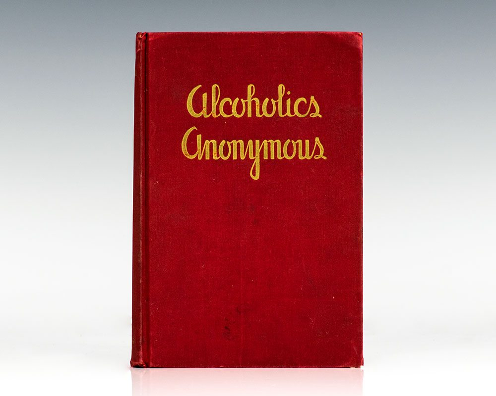 "Image of the book ""Alcoholics Anonymous"" -  by Bill Wilson"