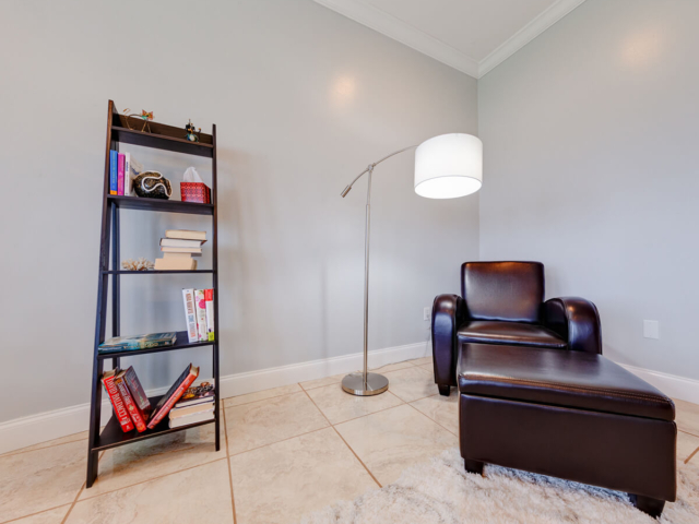 Image of Small reading corner inside Tikvah Lake Recovery