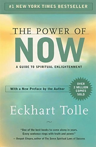 "Image of the book ""The Power of Now"" by Eckhart Tolle"