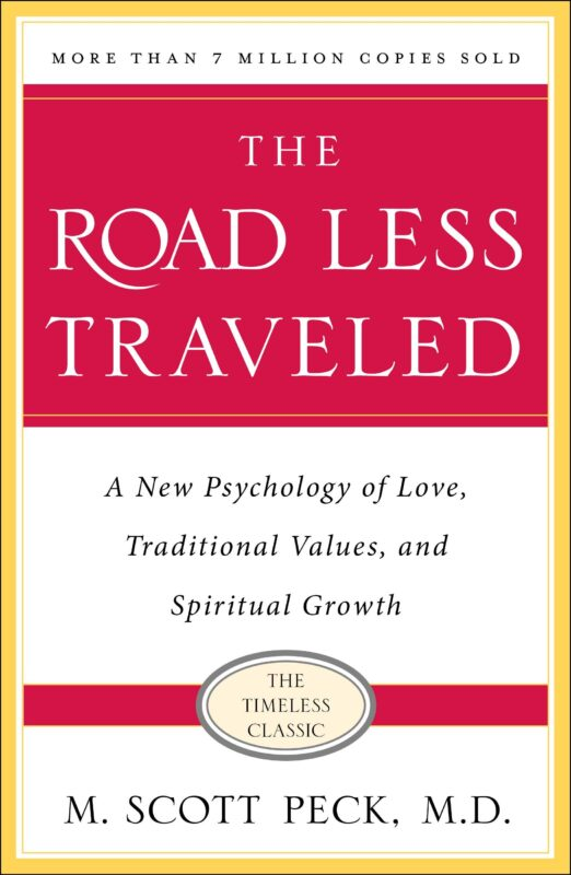 "Image of the book ""The Road Less Traveled"" -  by M. Scott Peck"