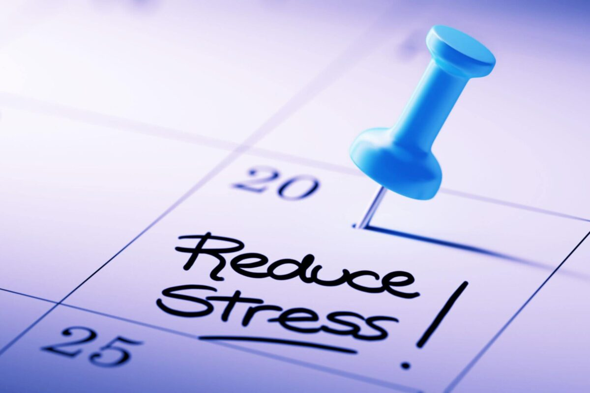 Get Comfortable with Stress Reduction