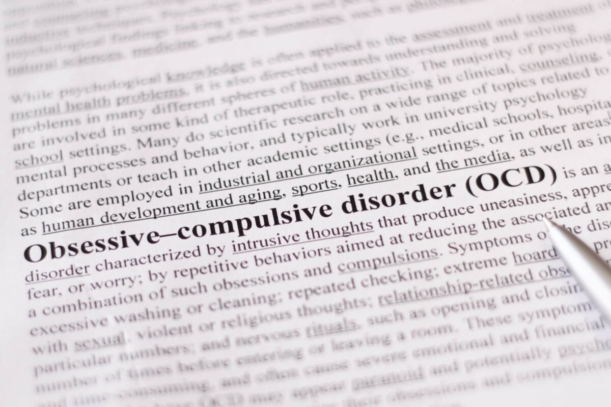 Knowledge is Power Learn About OCD