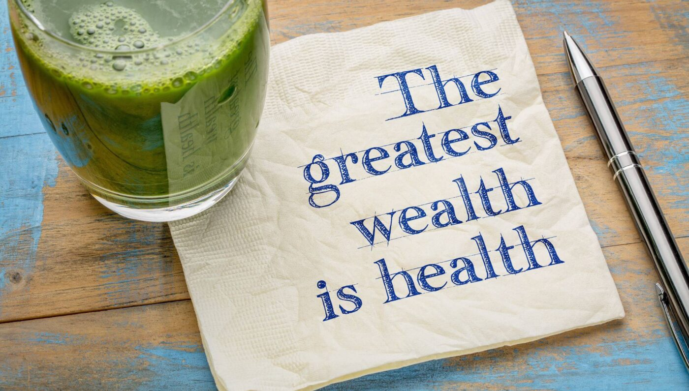 Wealth does not guarantee health